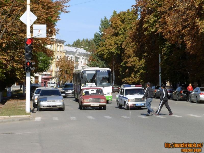 Московская. Пересечение с Просвещения. Сентябрь 2009