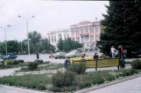 Платовский. Перед МакДональдсом. 25 августа 2004 г.