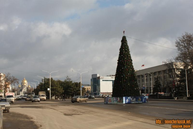 Городская ёлка - пр. Платовский