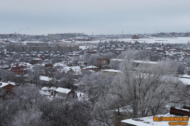 Вид на старый Ростовский выезд с Первомайской/Троицкой