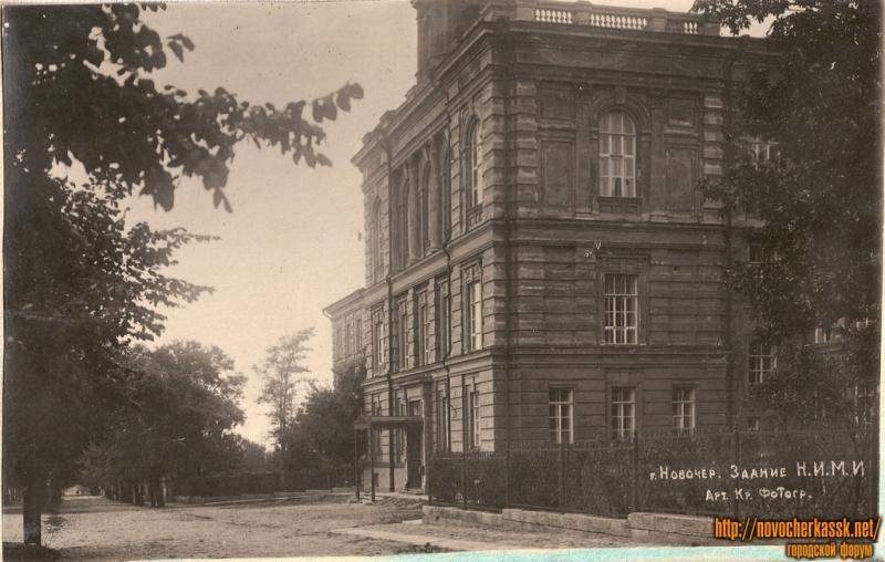 ул. Пушкинская. 1937 год. Здание НИМИ (НГМА)