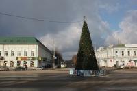 Городская ёлка, пр. Платовский