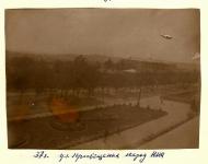 1937 год. Улица Просвещения. Вид из главного корпуса НПИ