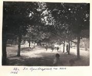 1938 год. Улица Просвещения около НПИ. Май