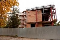 Строительство детского центра в Александровском парке