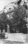 Химфак. Вид с ул. Богдана Хмельницкого. 1954 год