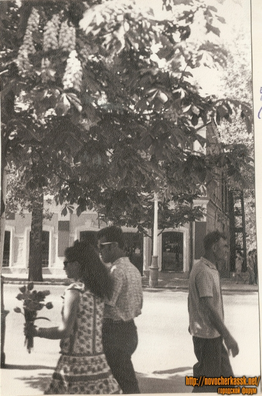 1970е. Улица Московская. Аптека