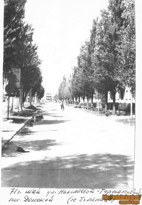Май 1971 г. Ул. Николаевой-Терешковой, пос. Донской (к больнице)