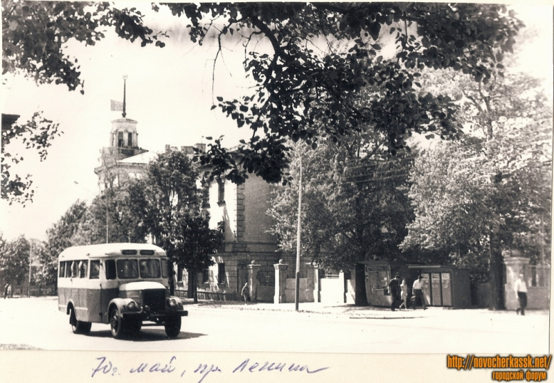 1970 год, май. Улица Московская, бывший проспект Ленина