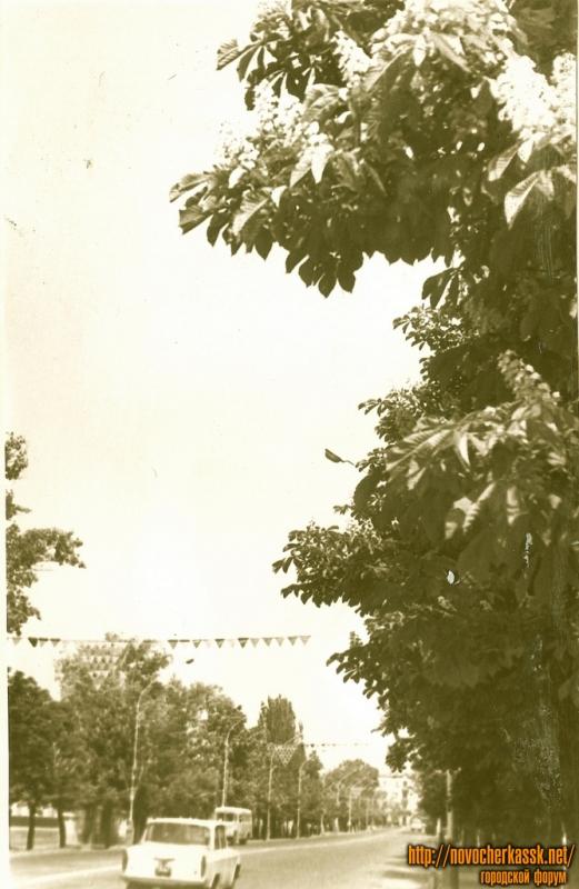 Ул. Московская. 1977 год