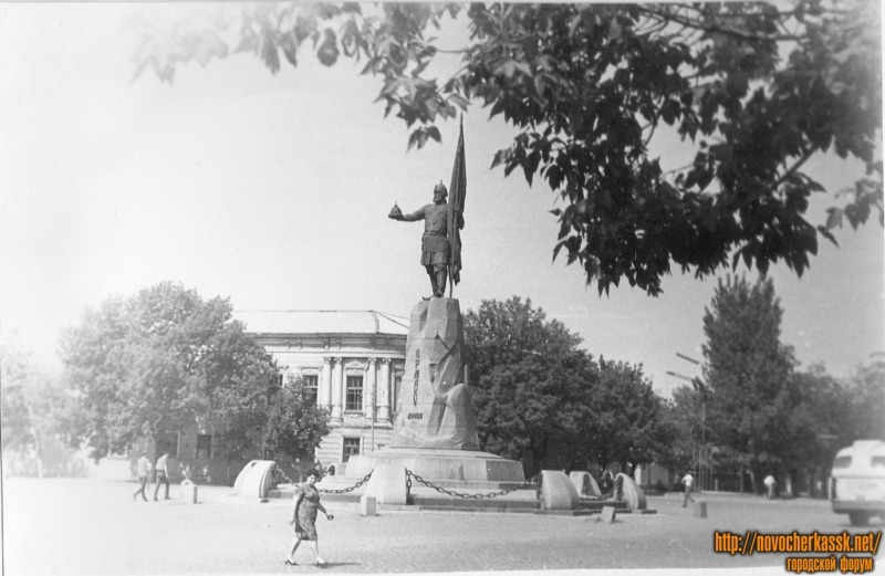 Памятник Ермаку. 1970 г