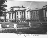 1959 год. Стадион НПИ. Главный корпус