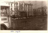Проспект Платовский. Март 1969 г