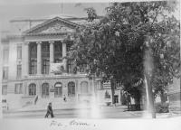 Весна 1970 года. Главный корпус НПИ. Вид с ул. Орджоникидзе