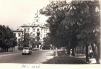 Май 1970 года. Улица Московская