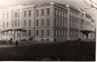 1970е. Угол Платовского и Атаманской. Театр