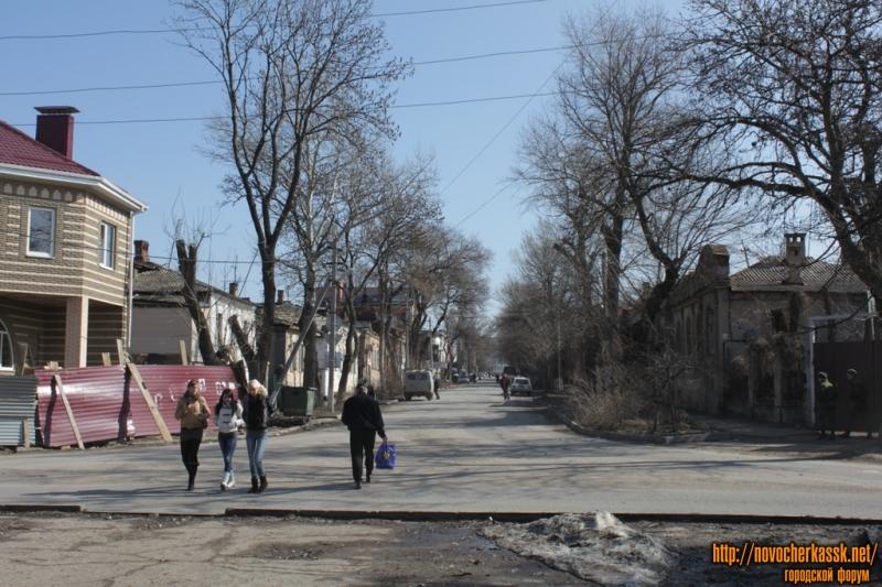 Вид на ул. Генерала Лебедя в сторону Московской с пл. Левски