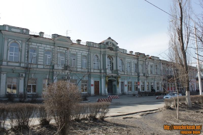 пр. Платовский, 65. Госпиталь