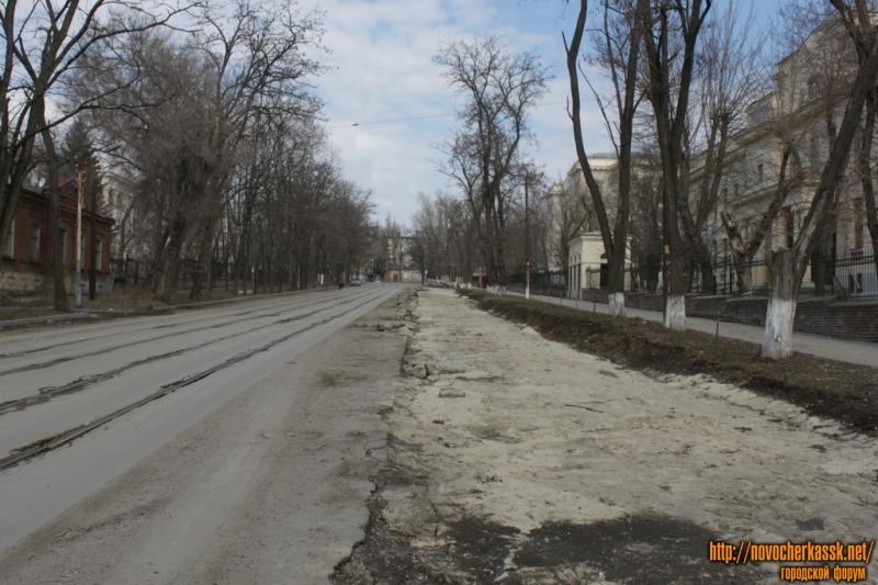 Сооружение парковки на ул. Богдана Хмельницкого