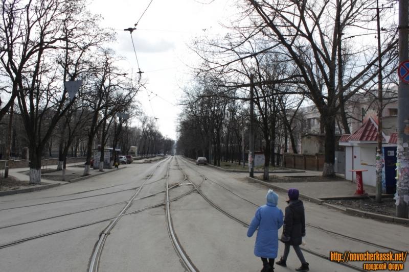 Вид на ул. Богдана Хмельницкого с ул. Троицкой