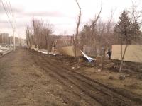 Пр. Баклановский. Последствия ураганного ветра
