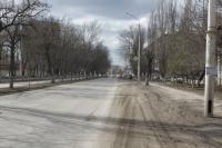 Проспект Баклановский в сторону пл. Юбилейной