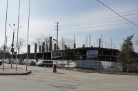 Пересечение Орджоникидзе и Платовского. Строительство торгового центра
