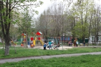 Детская площадка на пл. Чапаева
