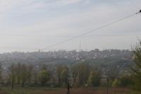 Вид на город с моста через Тузлов