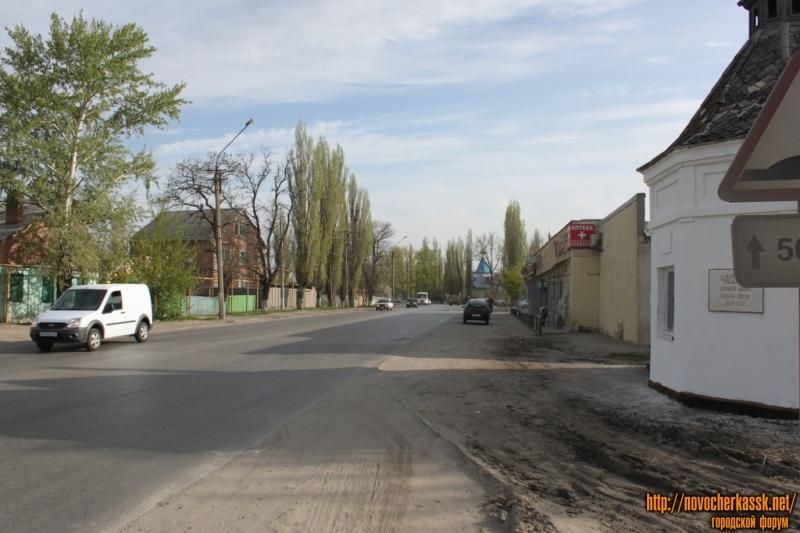 Улица Гагарина перед магазином Дорожный