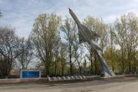 Хотунок, памятник-самолет Советским авиаторам