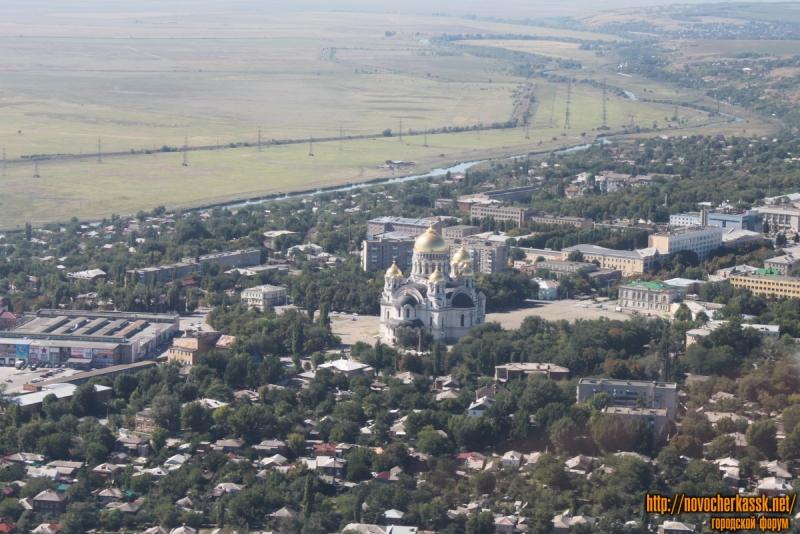 Новочеркасский собор. Вид с воздуха