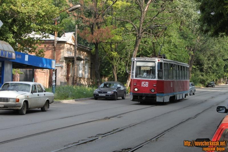 Трамвай на ул. Богдана Хмельницкого