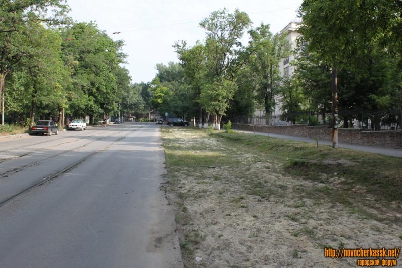 Строительство парковки на ул. Богдана Хмельницкого