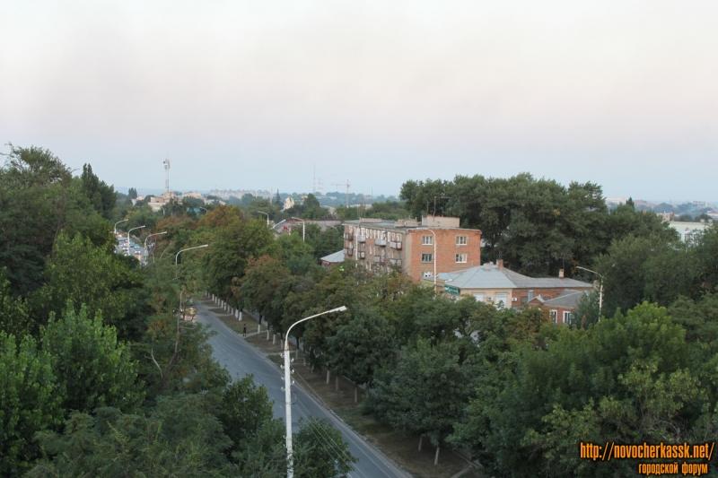 Проспект Баклановский в районе пер. Галины Петровой