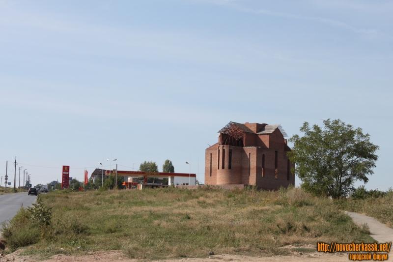 Строительство армянской церкви, улица Ростовский выезд