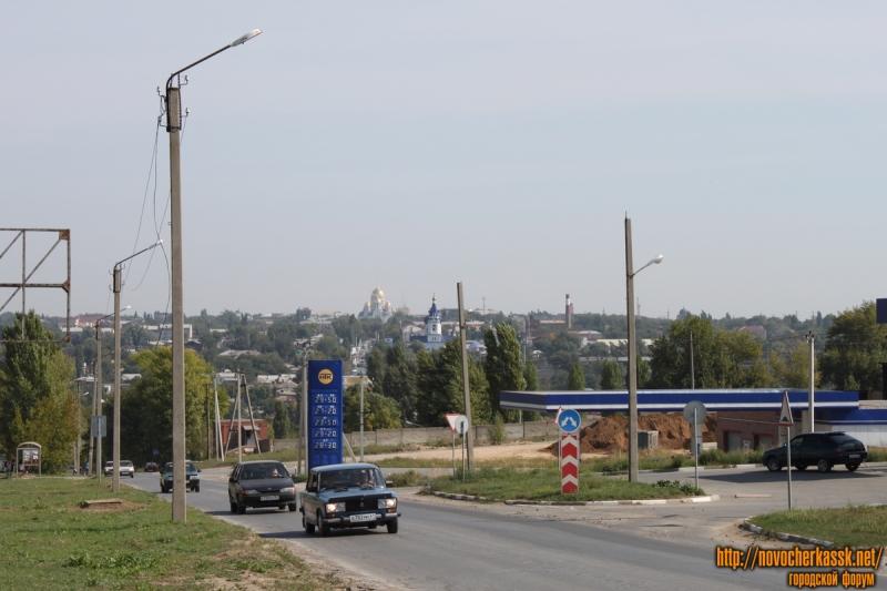 Вид на центральную часть города с ул. Ростовский выезд