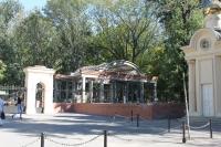 ЮРГТУ. Строительство беседки у Южного входа