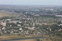 Вид с воздуха на Хотунок