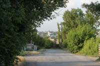 Свято-Михайло-Архангельский храм. Вид с улицы Силикатной