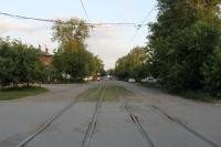 Улица Орджоникидзе. Вид с ул. Комитетской в сторону Платовского