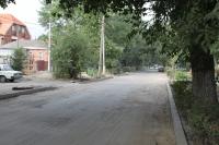 Ремонт дороги по ул. Просвещения