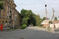 Улица Просвещения. Вид с улицы Богдана Хмельницкого