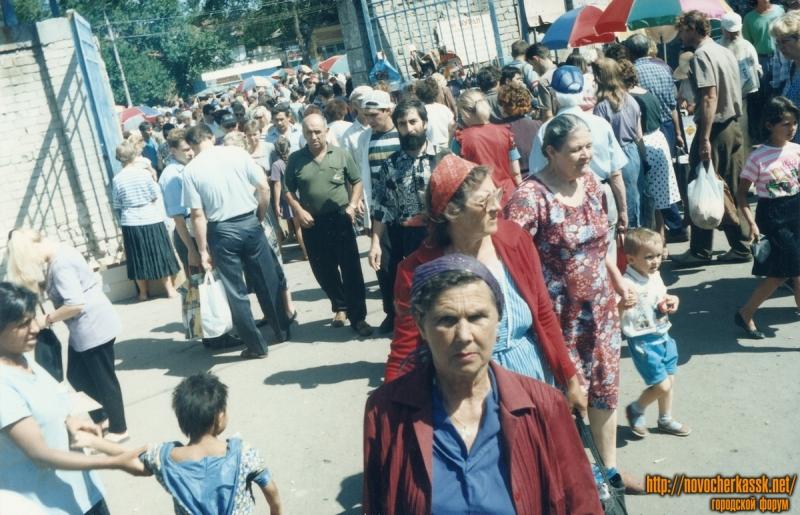 Пр. Платовский. Азовский рынок