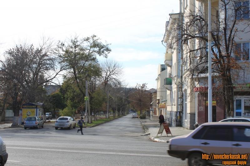 Вид переулка Кривопустенко