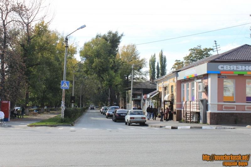Вид на улицу Просвещения с ул. Московской
