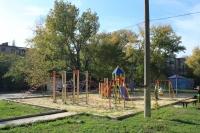 До конца года на 23 детских площадках Новочеркасска установят детское игровое и спортивное оборудование