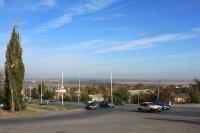 Вид на спуск Герцена с ул. Буденновской