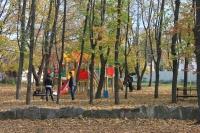 Детская площадка в детском парке