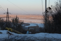 Вид на пойму реки Тузлов с пр. Платовского